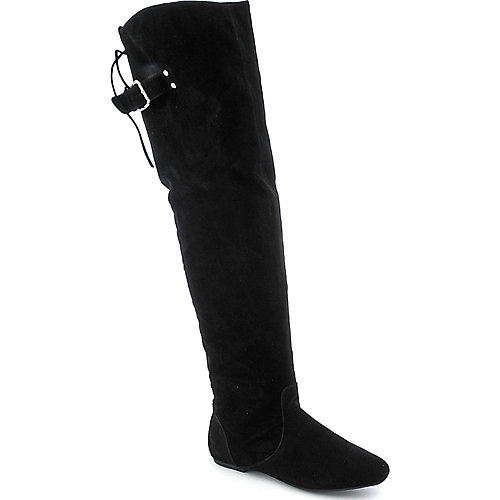 Bamboo Sunkiss-03 womens flat thigh-high boot