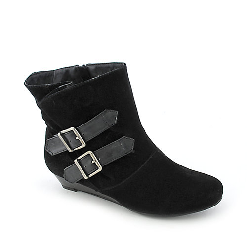 Bamboo Tamara-25 womens wedge ankle boot
