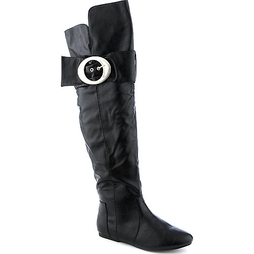 Bamboo Tinker-49 womens flat thigh-high boot