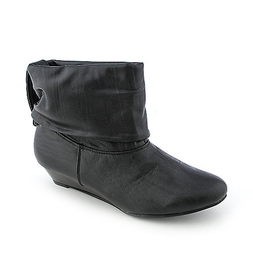Bamboo Tamara-05 womens ankle wedge boot