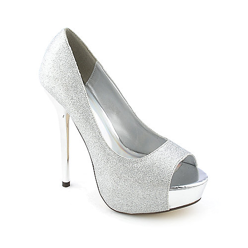 My Delicious Mealy-S womens dress evening high heel platform glitter pump