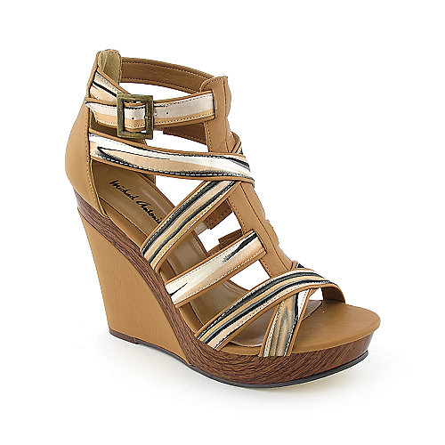 Michael Antonio Gunner womens platform wedge heel