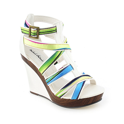 Michael Antonio Gunner Womens Dress Platform Wedge Heel