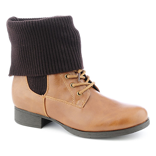 Bamboo Fighter-03 womens low heel ankle boot