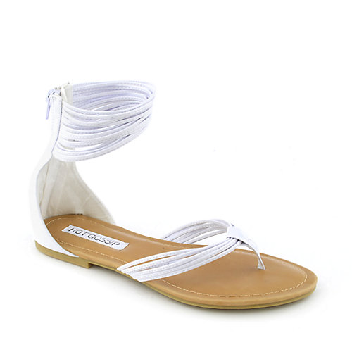 Hot Gossip Audra-06 womens flat strappy thong sandal