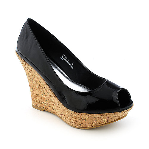 Bamboo Joyful-20 womens casual platform wedge
