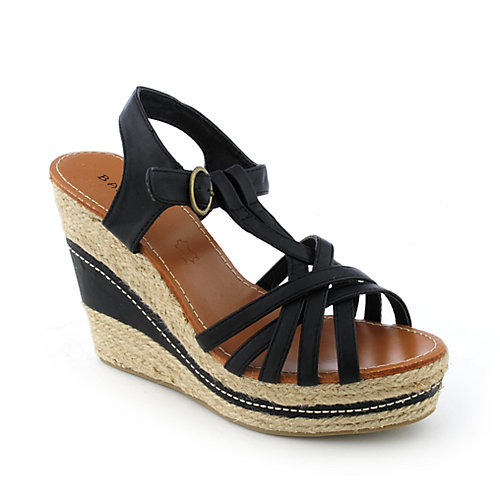 Bamboo Sunnie-01 womens casual espadrille platform wedge