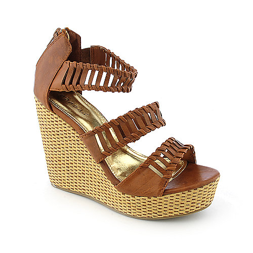 Bamboo Sunnie-09 womens casual espadrille platform wedge