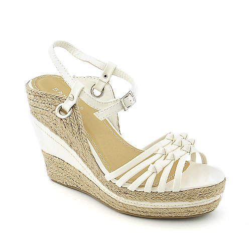 Bamboo Sunnie-10 womens casual espadrille platform wedge