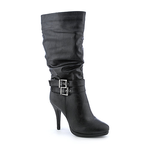 Anne Michelle Kariza-03 womens mid-calf high heel boot