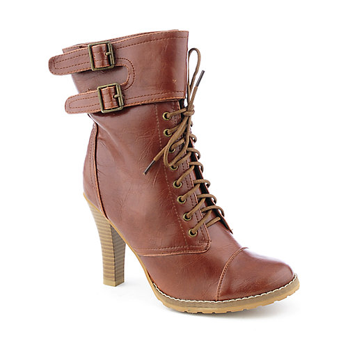 Bamboo Key-68 womens high heel mid-calf boot