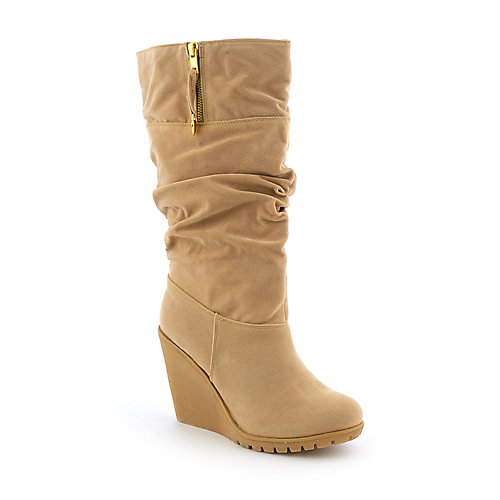 Bamboo Liberate-01 womens beige boot