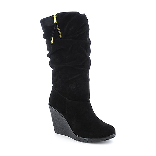Bamboo Liberate-01 womens black boot