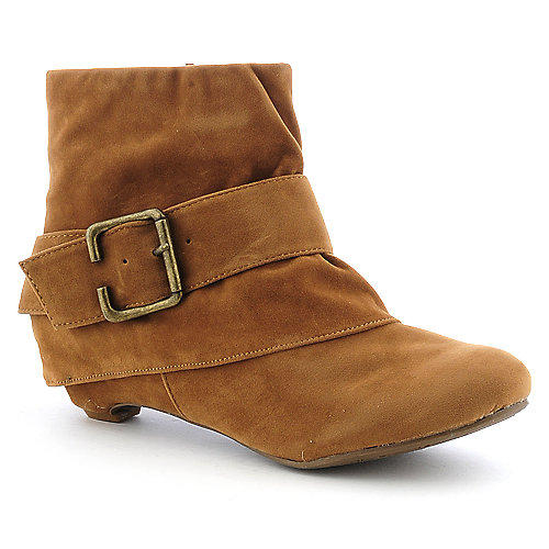 Bamboo Link-39 womens low heel ankle boot