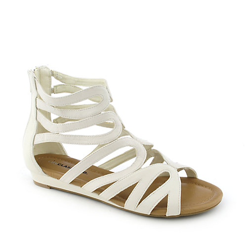 City Classified Access-S womens low heel wedge sandal