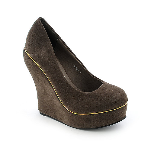 Novo Sona womens platform wedge
