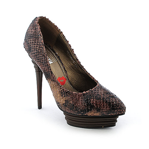 Red Kiss Mercedes-AO Womens dress high heel platform exotic pump