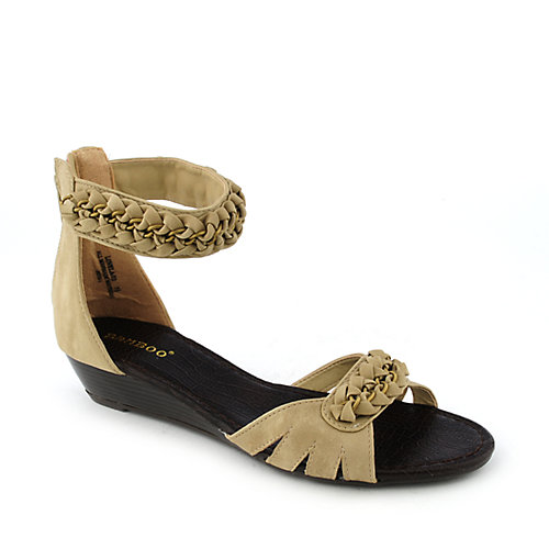 Bamboo Lovela-03 womens wedge sandal