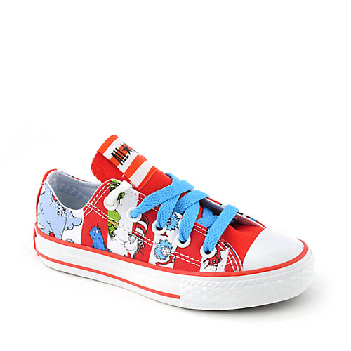 Converse All Stars Print Dr Seuss Ox kids youth sneaker