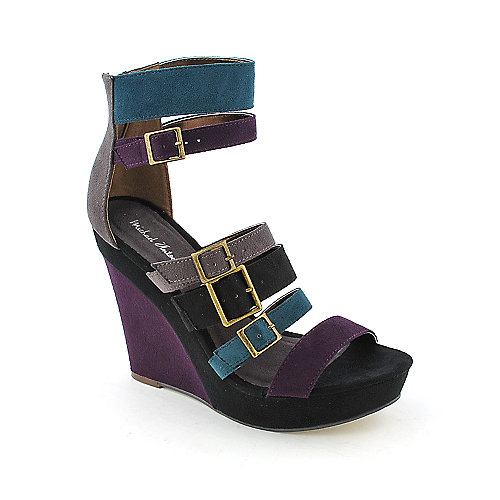 Michael Antonio Garner womens dress color block platform wedge