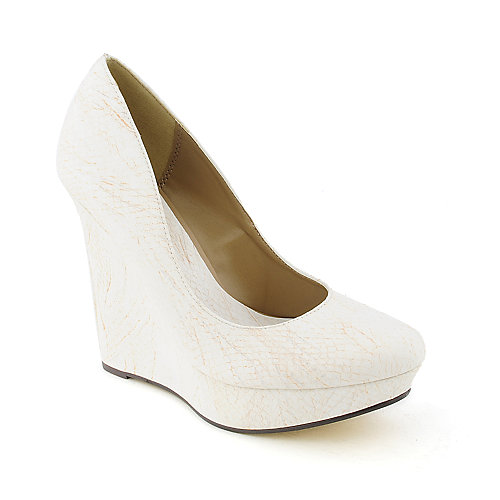 Michael Antonio Gezana womens dress exotic platform wedge