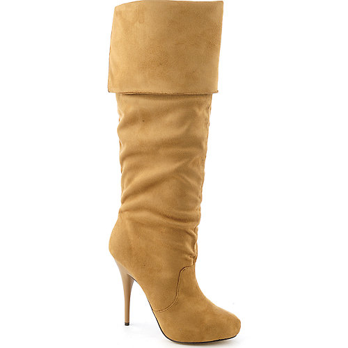 Michael Antonio Henderson womens platform knee-high high heel boot