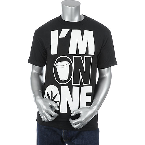 Cali Swagger Im On One Tee mens t-shirt