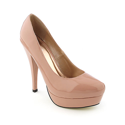 Glaze Nikki-1 womens dress high heel platform pump