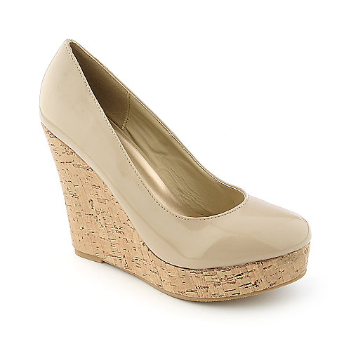 Glaze Nana-1 Womens dress platform wedge