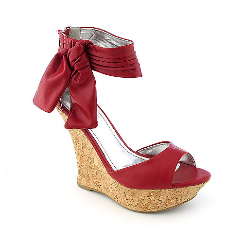 Bamboo Besexy-03 womens dress platform wedge