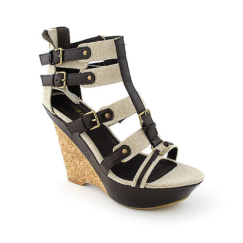 Bamboo Karina-06 womens dress platform wedge