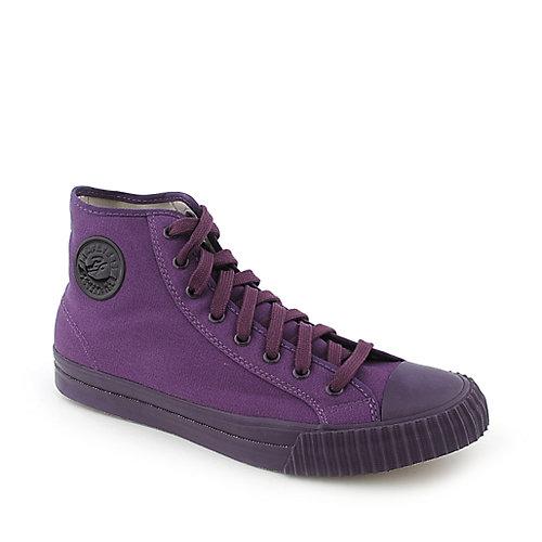 PF Flyers Center Hi Reissue mens purple athletic lifestyle sneaker 0c904524a