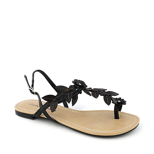 City Classified Setup-S womens flat slingback sandals