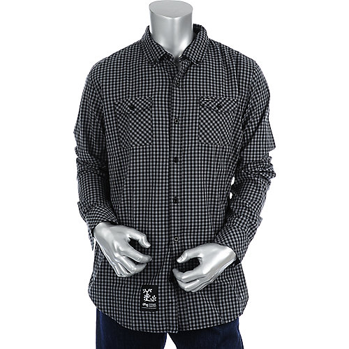 LRG Long Sleeve Woven Shirt mens apparel shirt