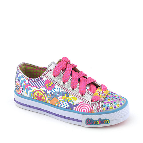 Skechers Twinkle Toes Limelights-Sugarlicious youth sneaker