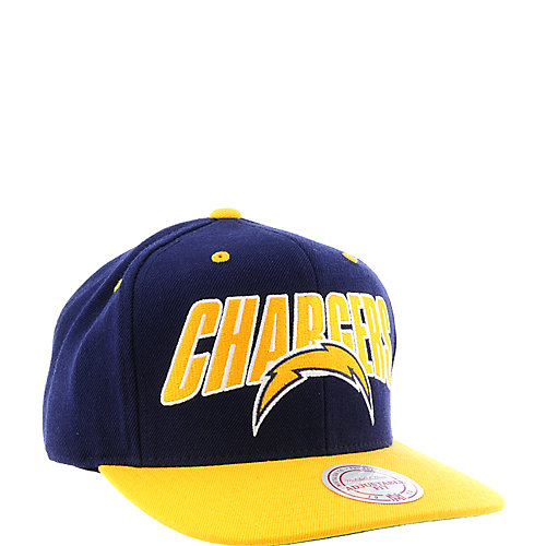 a81741fdc64 Mitchell   Ness San Diego Chargers Cap snapback hat