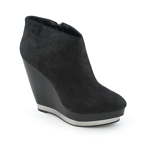 Promise Cheeky womens platform wedge ankle boot