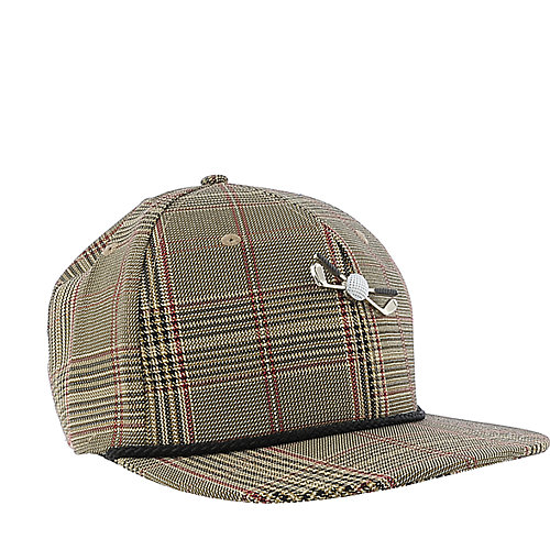Street Level Clothing Houndstooth Golf Hat adjustable hat