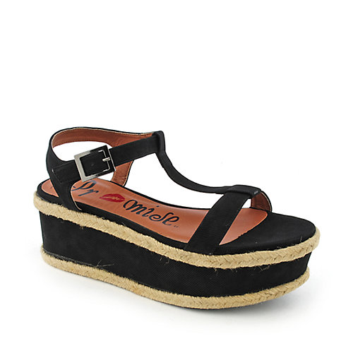 Promise Nabbie womens platform wedge casual shoe