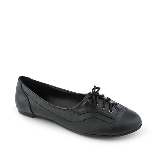 Soda Indiya-S womens casual slip-on oxford flat