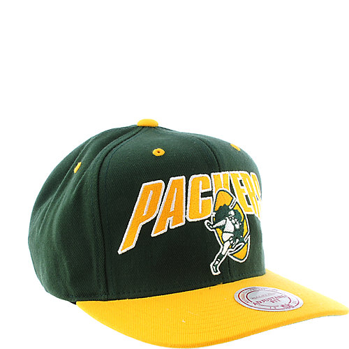 1b28604d4 Mitchell   Ness Green Bay Packers Cap snap back hat