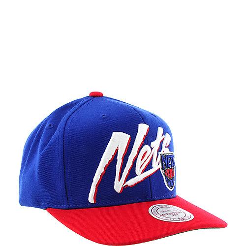 9ccc8b3d661 Mitchell   Ness New Jersey Nets Cap snap back hat