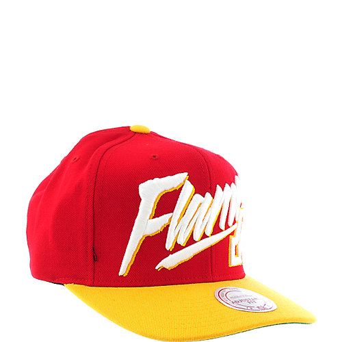 Mitchell & Ness Calgary Flames Cap snap back hat
