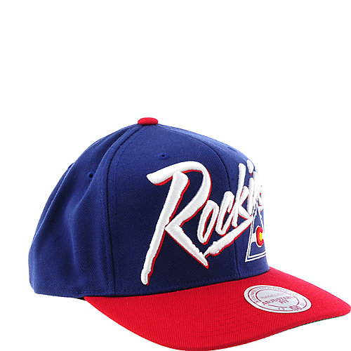 Mitchell & Ness Colorado Rockies Cap snap back hat