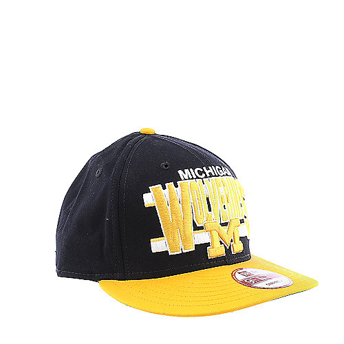 New Era Michigan Wolverines Cap snap back hat