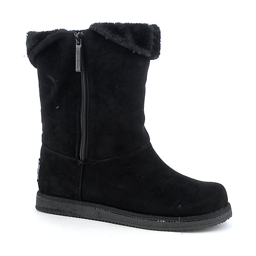 Shiekh Urban womens flat fur lined mid-calf boot