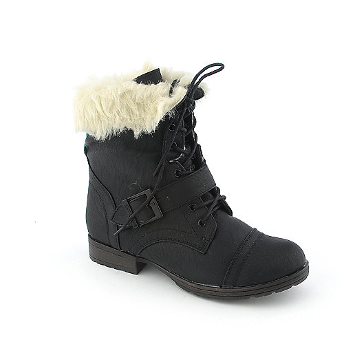 Shiekh Denver-91 womens low heel fur mid-calf boot