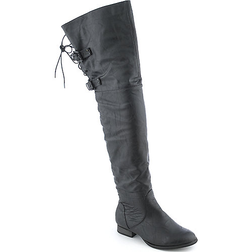 Shiekh Cameo-2 womens low heel thigh high boot