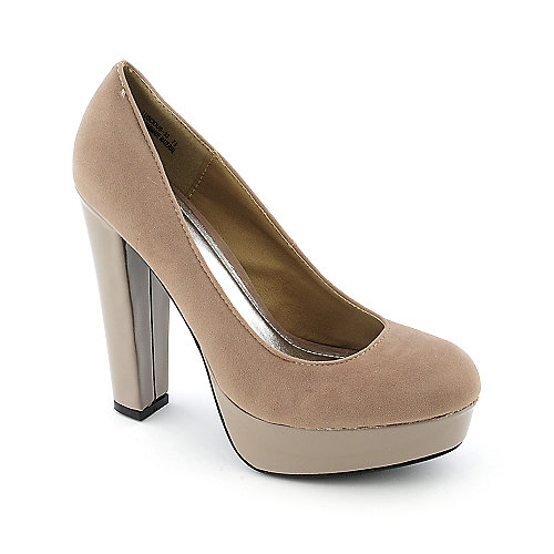 Bamboo Luscious-33 womens dress high heel platform pump