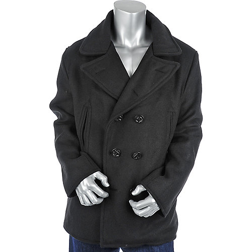Jordan Craig Side Pocket Wool Peacoat mens apparel jacket